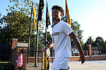 26 August 2016: Wake Forest's Michael DeShields. The Wake Forest University Demon Deacons hosted the Saint Louis University Billikens in a 2016 NCAA Division I Men's Soccer match. SLU won the game 1-0.