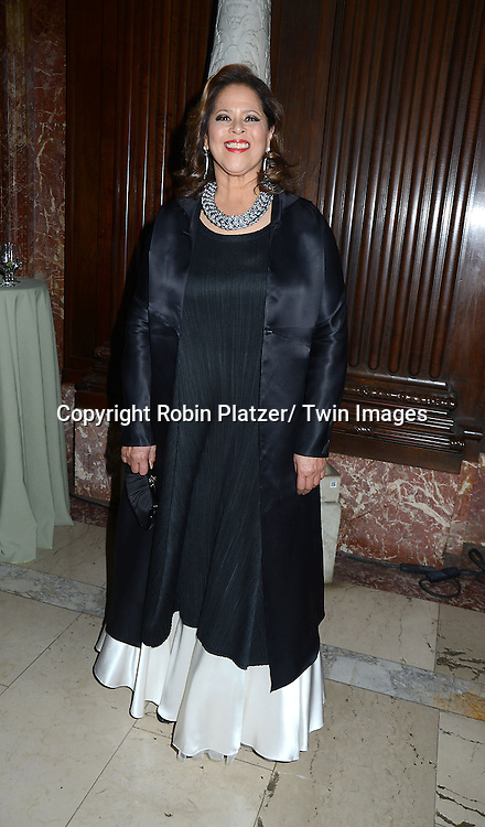 Anna Deavere Smith attends The New York Public Library's  Annual Library Lions Gala on November 4, 2013 at the New York Public Library in New York City.