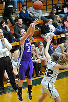 Keystone at Elyria Catholic in a girls high school varsity basketball game on February 6, 2012.