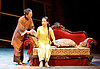 Thunderstorm <br /> by MO Fan <br /> based on the drama by Cao Yu <br /> Shanghai Opera House at The London Coliseum, London, Great Britain <br /> rehearsal <br /> 10th August 2016 <br /> <br /> <br /> <br /> Li Na as Shiping <br /> <br /> Ji Yunhui as Sifeng <br /> <br /> <br /> <br /> Photograph by Elliott Franks <br /> Image licensed to Elliott Franks Photography Services