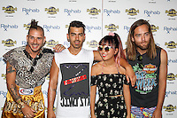 LAS VEGAS, NV - JULY 24: DNCE featuring Joe Jonas at Rehab at hard rock hotel & casino In Las Vegas, Nevada on July 24, 2016. Credit: GDP Photos/MediaPunch