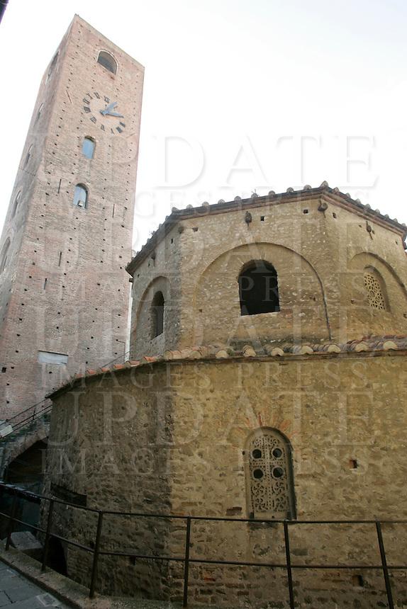 Il Battistero di Albenga.<br /> The Baptistery of Albenga.<br /> UPDATE IMAGES PRESS/Riccardo De Luca