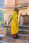 Woman, Galta Monkey Temple, Jaipur