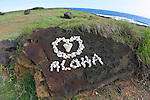 Aloha, South Point, Island of Hawaii