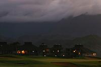 Twilight over the Makai Course in Princeville, Kauai