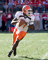 07 October 2006: Bowling Green quarterback Anthony Turner..The Ohio State Buckeyes defeated the Bowling Green Falcons 35-7 on October 7, 2006 at Ohio Stadium, Columbus, Ohio.