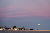 Full Moon Over Greenport<br /> North Fork of Long Island