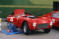 August 26th 1984, Laguna Seca Raceway, CA. 1954 Ferrari 375+ Type Le Mans.