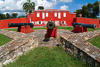 Fort Frederick<br /> Fredericksted, St Croix<br /> US Virgin Islands