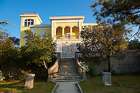 Villa overlooking the bay of Cres, Cres Island, Croatia