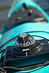 Compass on kayak