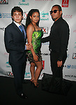 Andre Mastro, Amera Faraj and Rob Aurelius Attend Swim Sunrise Fashion Show Held at New York Aqua Bar & Lounge inside Grace Hotel, NY 7/27/12