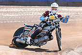 Marc Owen of Hackney Hawks in riding action - Hackney Hawks Speedway Press &amp; Practice Day at Arena Essex Raceway, Purfleet, Essex - 23/03/11 - MANDATORY CREDIT: Gavin Ellis/TGSPHOTO - Self billing applies where appropriate - Tel: 0845 094 6026