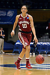 22 March 2014: Oklahoma's Morgan Hook. The DePaul University Blue Demon played the University of Oklahoma Sooners in an NCAA Division I Women's Basketball Tournament First Round game at Cameron Indoor Stadium in Durham, North Carolina. DePaul won the game 104-100.