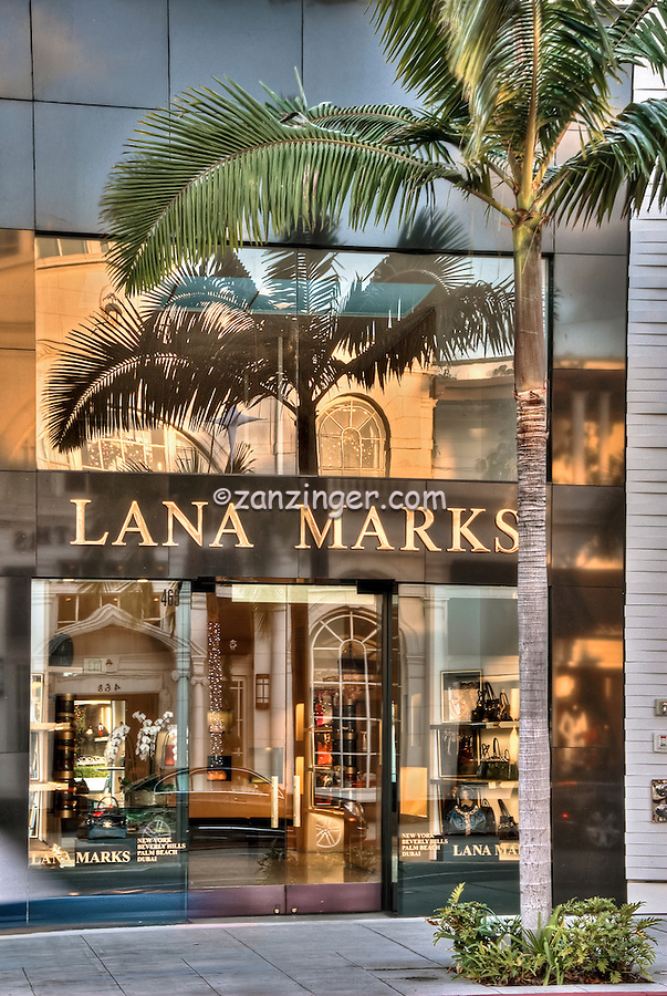 Luxury Window Shopping, Beverly Hills,  CA, Rodeo Drive, , Vertical image