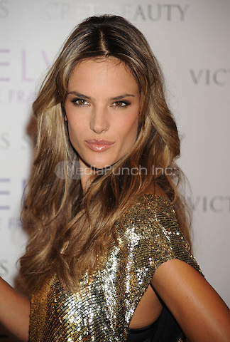Victoria's Secret Beauty's Velvet Fragrance Launch hosted by Alessandra Ambrosio at Victoria's Secret at Lexington Avenue in New York City. October 14, 2009.. Credit: Dennis Van Tine/MediaPunch