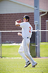 04/05/12 - Kalamazoo, MI: Kalamazoo College Baseball vs Finlandia.  Kalamazoo won both games of the doubleheader, 13-8 and 5-4.  Photo by Chris McGuire.