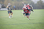 Men's Lacrosse kicks off its season by facing George Washington University on October 12, 2013. (Photo by Ty Hester)
