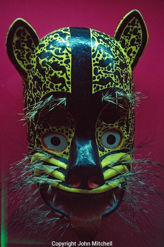 Ceremonial Jaguar Mask, National Mask Museum, San Luis Potosi, Mexico