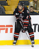 Drew Ellement (Northeastern - 2) - The Boston College Eagles defeated the Northeastern University Huskies 5-4 in their Hockey East Semi-Final on Friday, March 18, 2011, at TD Garden in Boston, Massachusetts.