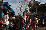 FEATURES- A Summer day in Coney Island In New York