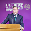 Peter Whittle <br /> UKIP Culture Spokesman<br /> and UKIP Economy Spokesman Patrick O'Flynn host a press briefing on St George's Day 23rd April 2015 at One Great George Street, London, Great Britain <br /> <br /> Peter Whittle <br /> Patrick O'Flynn<br /> <br /> <br /> Photograph by Elliott Franks <br /> Image licensed to Elliott Franks Photography Services