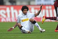 FUSSBALL   1. BUNDESLIGA  SAISON 2011/2012   24. Spieltag 1. FC Nuernberg - Borussia Moenchengladbach      04.03.2012 Dante Bonfim (Borussia Moenchengladbach)