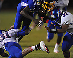 Oxford High's Nick Brown (18) vs. Grenada in Oxford, Miss. on Friday, August 17, 2012. Oxford won 28-22.