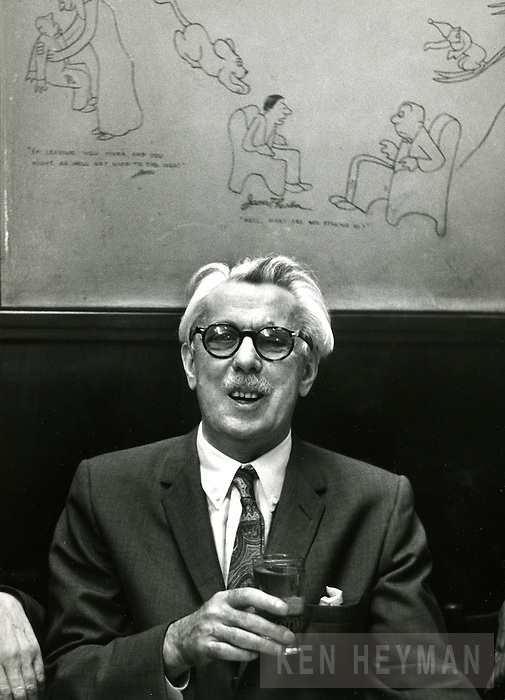 Cartoonist James Thurber