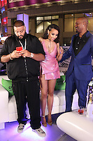 LOS ANGELES, CA - JUNE 26: DJ Khaled, Tinashe and Big Tigger at the 2016 BET Awards after party at JW Marriott in Los Angeles, California on June 26, 2016. Credit: Walik Goshorn/MediaPunch