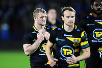 Mike Haywood of Northampton Saints looks dejected after the match. European Rugby Champions Cup match, between Northampton Saints and Leinster Rugby on December 9, 2016 at Franklin's Gardens in Northampton, England. Photo by: Patrick Khachfe / JMP