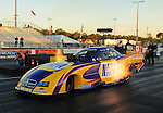 Jan. 19, 2012; Jupiter, FL, USA: NHRA funny car driver Ron Capps during testing at the PRO Winter Warmup at Palm Beach International Raceway. Mandatory Credit: Mark J. Rebilas-