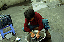 Entire families live and work in coal mining. Often they live in proximity of the mines.  Children of coal miners since early age help out.  Zhi Du coal mine.  This is a legal coal mine.