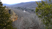 NWA Democrat-Gazette/FLIP PUTTHOFF <br /> Yellow Rock Trail at Devil's Den State Park leads      Jan. 1 2017     to an overlook with views of the Lee Creek valley. The hike is one of three treks that are easy to moderate in difficulty and lead to lofty views.