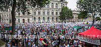 "19.07.2014 - 100,000 Strong March for ""Gaza: Stop The Bombing - National Demonstration"""
