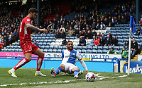 Blackburn Rovers' Liam Feeney and Bristol City's Marlon Pack<br /> <br /> Photographer Stephen White/CameraSport<br /> <br /> The EFL Sky Bet Championship - Blackburn Rovers v Bristol City - Monday 17th April 2017 - Ewood Park - Blackburn<br /> <br /> World Copyright &copy; 2017 CameraSport. All rights reserved. 43 Linden Ave. Countesthorpe. Leicester. England. LE8 5PG - Tel: +44 (0) 116 277 4147 - admin@camerasport.com - www.camerasport.com