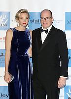 Prince Albert II of Monaco & Princess Charlene attend the MONAA Gala - Monaco