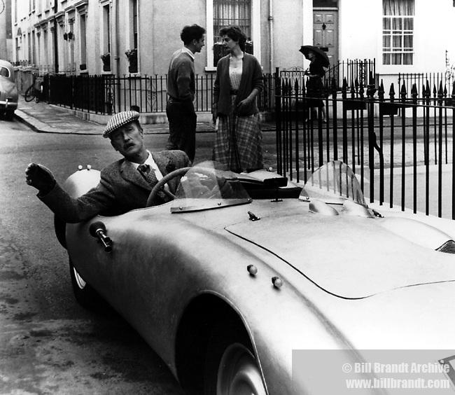 Toff in sportscar, 1960s
