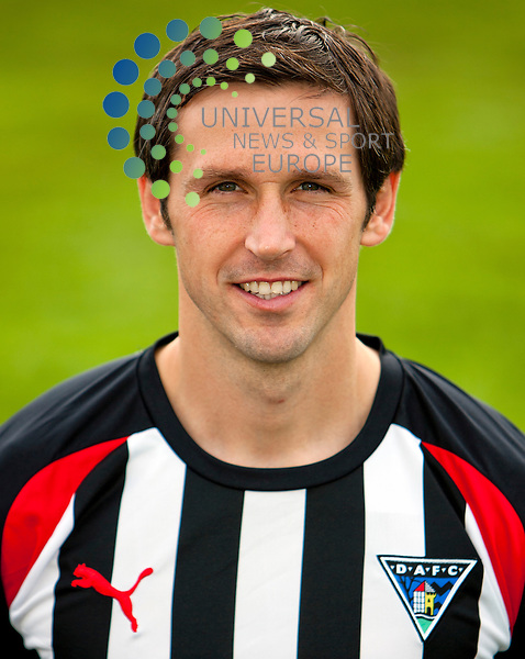 The Clydesdale Bank Scottish Premier League, Season 2011/12.Dunfermline Athletic Football Club Pre Match news conferance..13-10-11...Craig Easton (headshot)  in the preview to their Clydesdale Bank Scottish Premier League game against Hearts of Midlothian FC...At pitreavie, Dunfermline...Picture, Craig Brown /Universal News and Sport (Scotland)..Thursday 13th October 2011.
