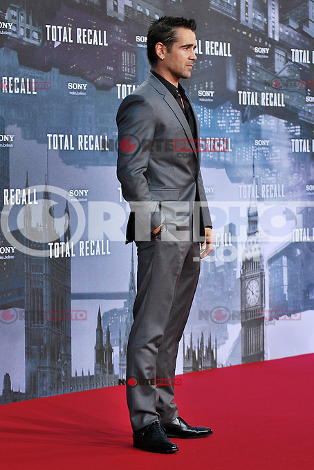 Berlin, August 13, 2012:  Colin Farrell attends the &quot;Total Recall&quot; Premiere /NortePhoto.com<br /> <br /> **CREDITO*OBLIGATORIO** *No*Venta*A*Terceros*<br /> *No*Sale*So*third* ***No*Se*Permite*Hacer Archivo***No*Sale*So*third*