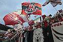 Urawa Reds fans,.APRIL 21, 2012 - Football / Soccer :.2012 J.League Division 1 match between Omiya Ardija 2-0 Urawa Red Diamonds at NACK5 Stadium Omiya in Saitama, Japan. (Photo by Hiroyuki Sato/AFLO)