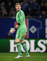 FUSSBALL   1. BUNDESLIGA    SAISON 2012/2013    14. Spieltag   Hamburger SV - FC Schalke 04                               27.11.2012 Lars Unnerstall (FC Schalke 04)