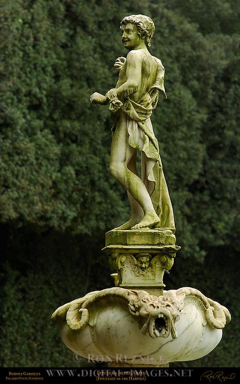 Fontana delle Arpie Fountain of the Harpies Susini Boboli Gardens