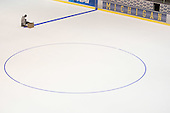 6/30/08 The crew at Yost Ice Arena painting the ice with lines and logos for the upcoming season.