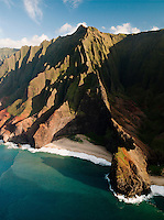 Honop? Valley on the Na Pali Coast National Park, Kaua?i, Hawai?i