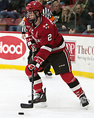 Eric Sweetman (SLU - 2) - The Harvard University Crimson defeated the St. Lawrence University Saints 6-3 (EN) to clinch the ECAC playoffs first seed and a share in the regular season championship on senior night, Saturday, February 25, 2017, at Bright-Landry Hockey Center in Boston, Massachusetts.