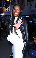 NEW YORK, NY-August 23:  Tika Sumpter at Goodf Morning America to talk about her new movie Southside with You in New York. August 23, 2016. Credit:RW/MediaPunch