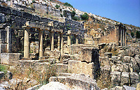 Libya   Cyrene.Archaeological site, Apollo sanctuary,  .City founded by the Greek 3rd century BC.UNESCO World Heritage Site.....