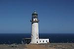 Lighthouse on West San Benitos Island, Baja CA