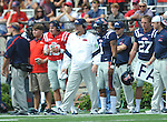 Ole Miss head coach Houston Nutt at Vaught-Hemingway Stadium in Oxford, Miss. on Saturday, September 24, 2011. Georgia won 27-13.